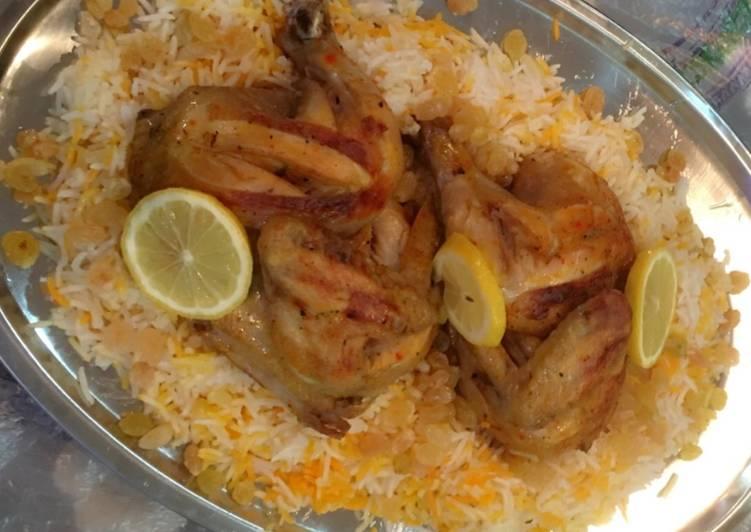 Resep Nasi Mandhi Ayam Mandhi Dujaj Masak Rice Cooker Oleh