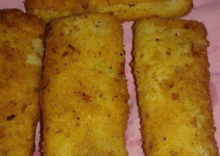 Cheese Chicken Bread Roll Iftarispecial Cookpad With Huma