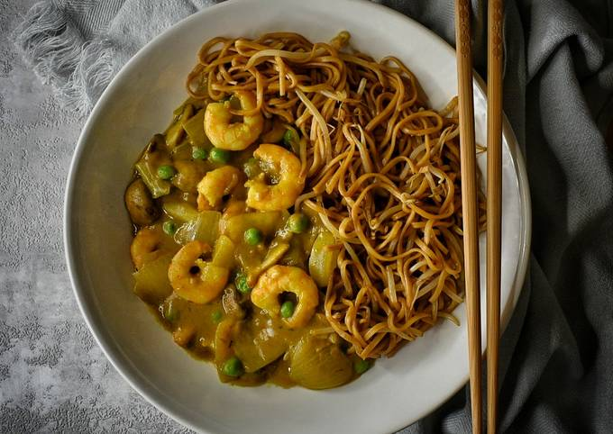 King Prawn Curry (Chinese Takeaway Style)
