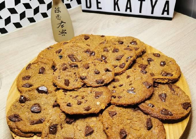 Cookies chocolat/muesli