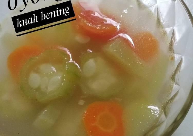 Resep Sayur Oyong Kuah Bening Oleh Farra Silviana Cookpad