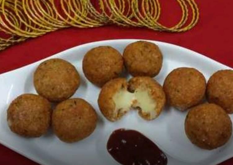 Cheesy Rice Balls