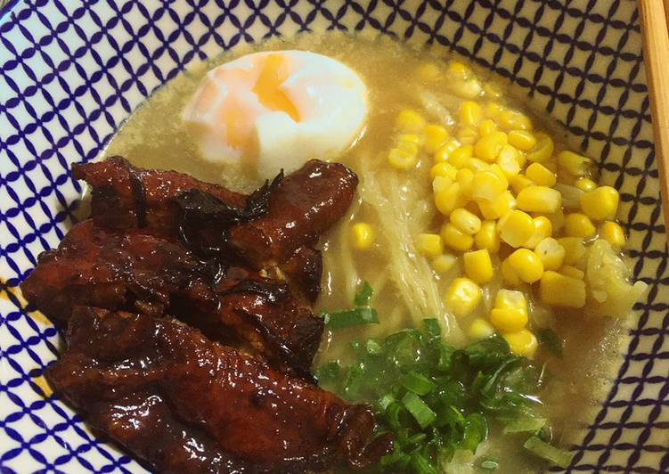 Simple Way to Make Ultimate Chicken Broth Ramen