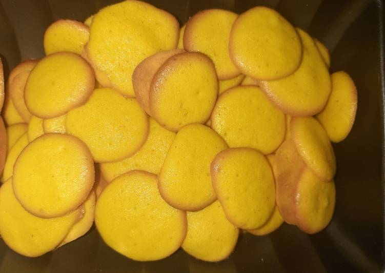 Recipe of Super Quick Homemade Egg dots biscuits