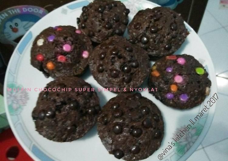 Muffin chocochips super simpel & nyoklat anti gagal #pr_muffin
