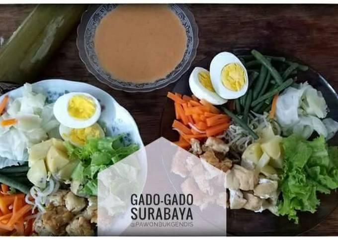 Resep Gado Gado Surabaya Oleh Ibukgendis Cookpad
