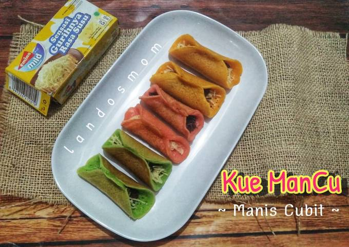 Resep Kue Mancu (Manis Cubit) aka Kue Manja yang Enak Banget