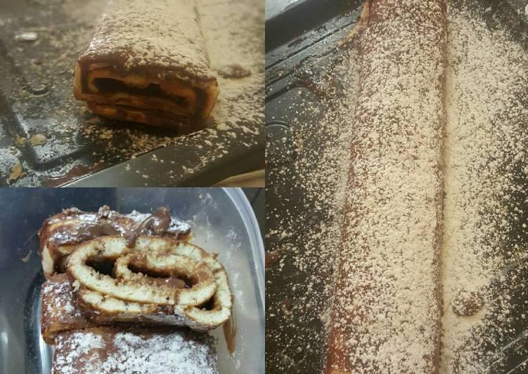 Comment faire Faire Savoureux Gâteau roule au chocolat