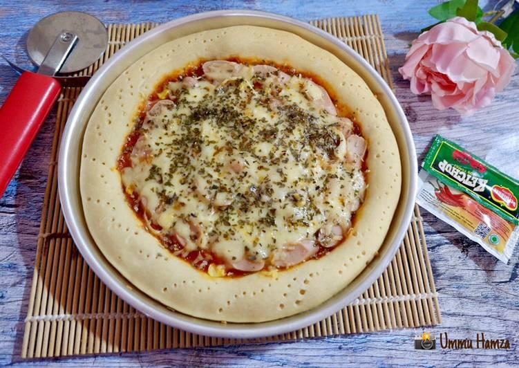 Pizza  takaran sendok