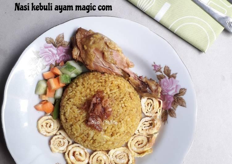 Nasi kebuli ayam magic com - cookandrecipe.com