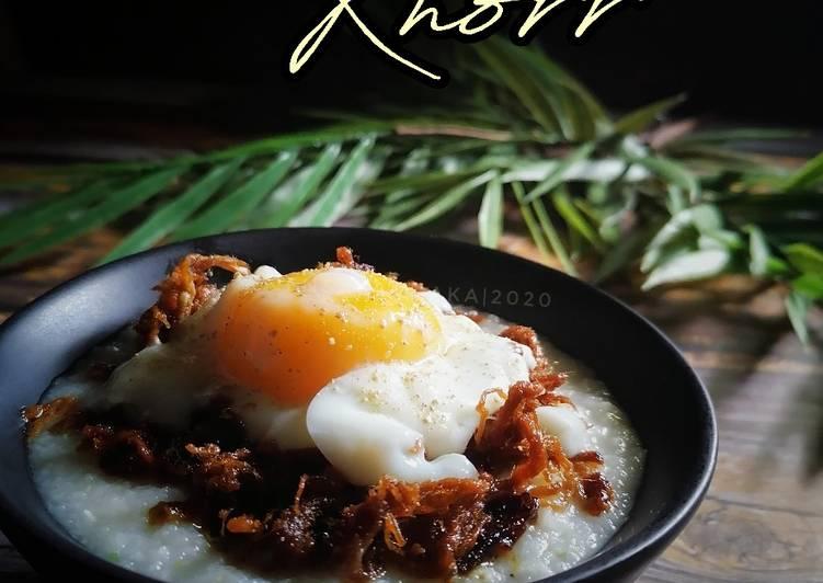 Bubur Nasi Knorr - resepipouler.com