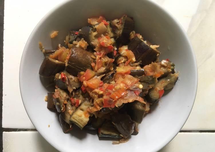Terong Sambal Tomat Rendah Kalori : 156 kcal
