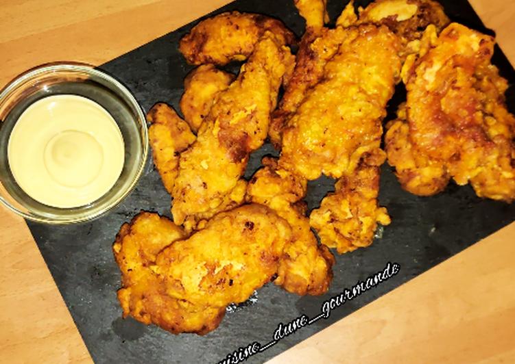 How to Make Yummy ♨️ POULET FAÇON KFC ♨️