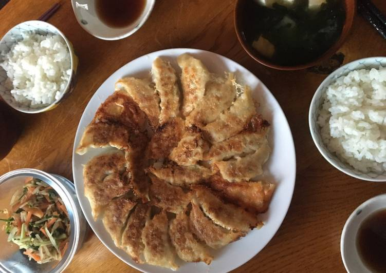 Recipe of Favorite My Japanese gyoza