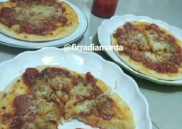 Pizza Rumahan tanpa Oven