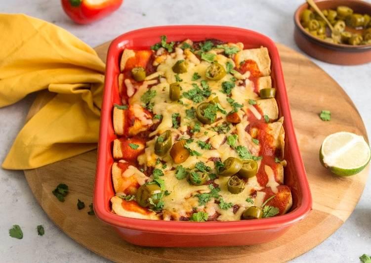 Vegetarian Enchiladas Recipe