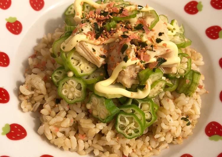 Steps to Make Delicious Tuna Okura ☆ Don