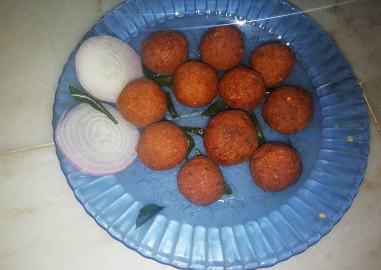 Tasty chana balls