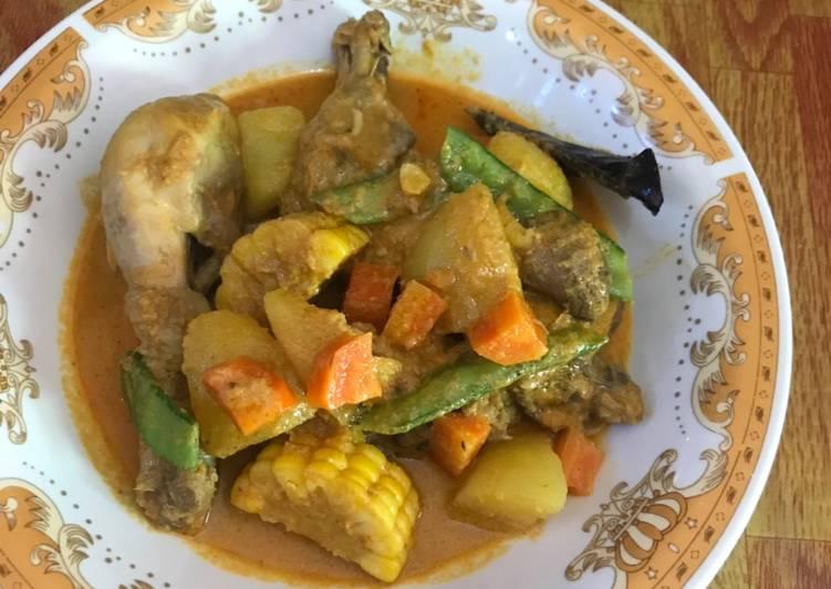 Gulai Ayam Sayuran Sehat