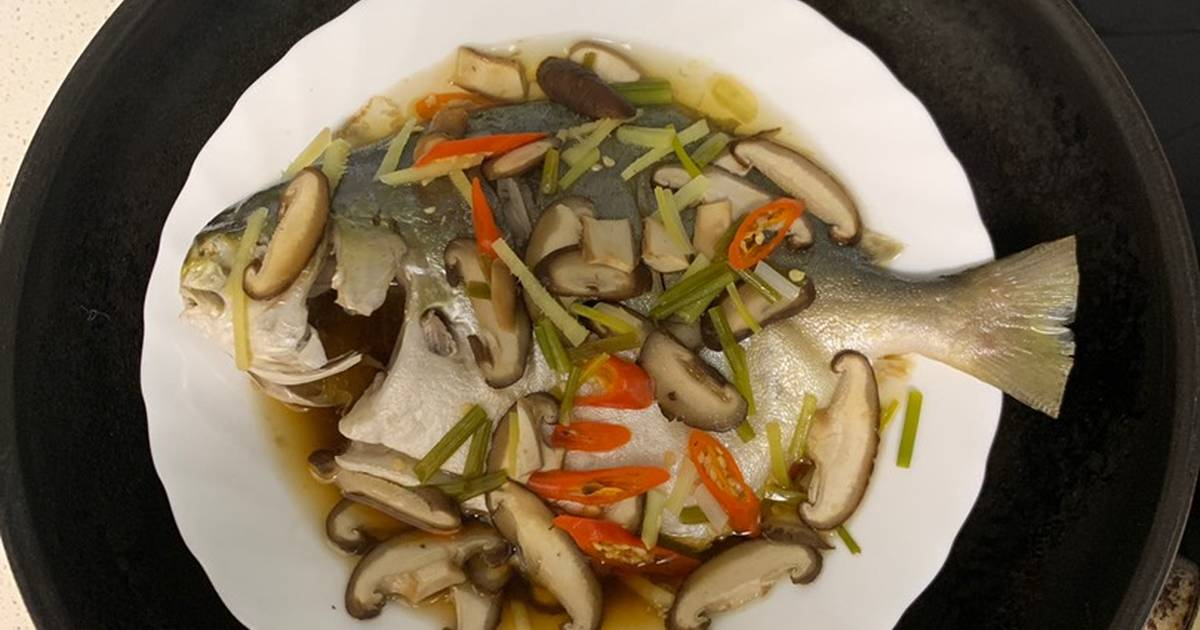 resep ikan tim enak  sederhana cookpad Resepi Ikan Kembung Di Tim Enak dan Mudah