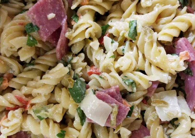 Recipe: Tasty Italian Deli Pasta Salad