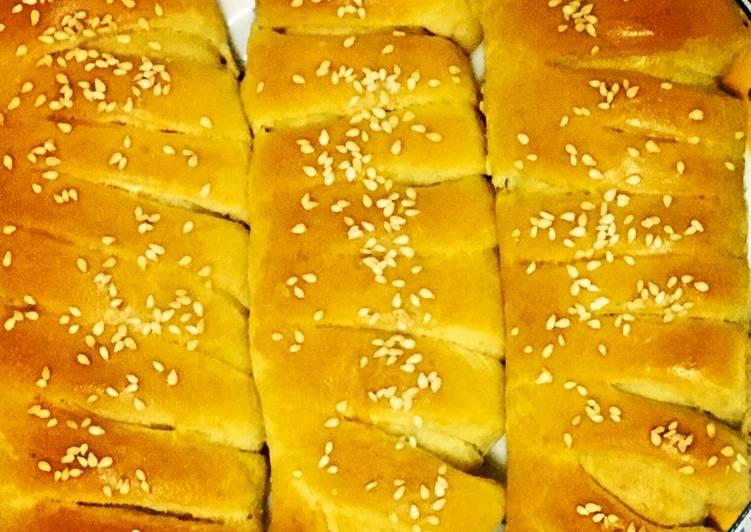 Caterpillar buns #bakedsnack