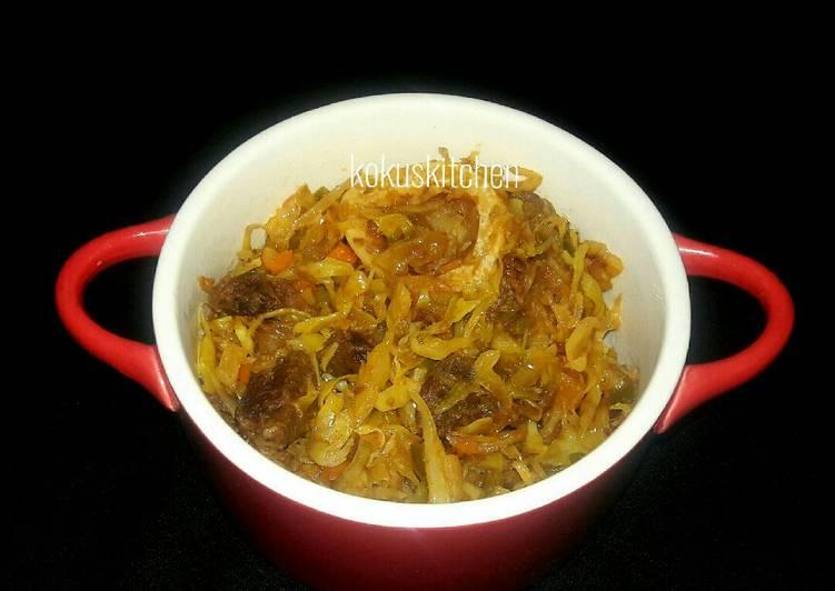 Recipe of Quick Leftover beef stew cabbage