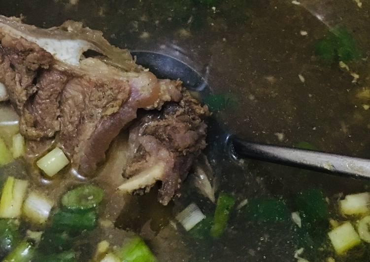 Kuah bakso daging sapi
