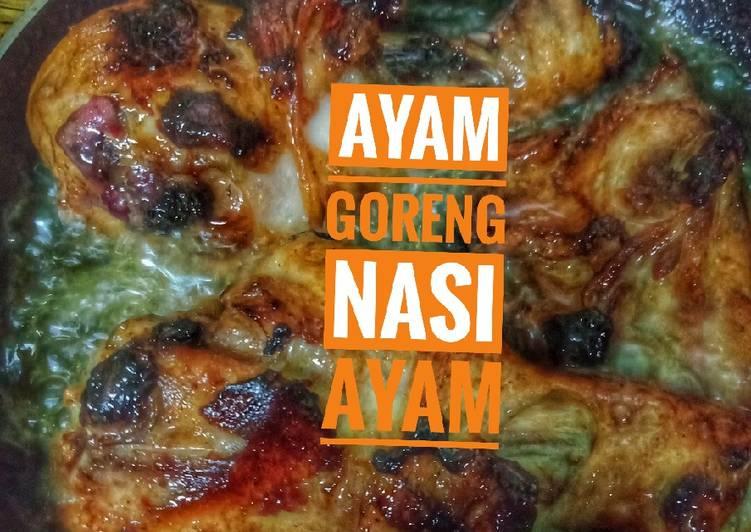 Ayam goreng khas untuk nasi ayam - velavinkabakery.com