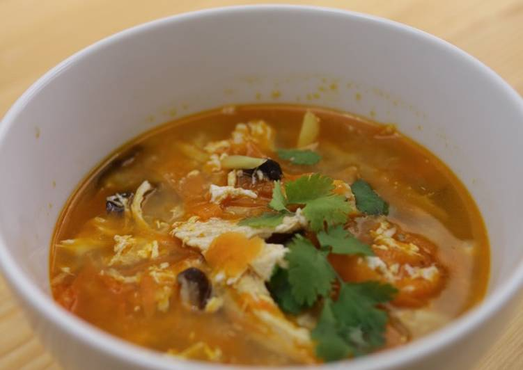 Recipe of Ultimate Hot and Sour Soup