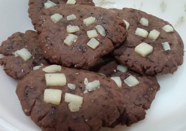 Cookies coklat tanpa oven