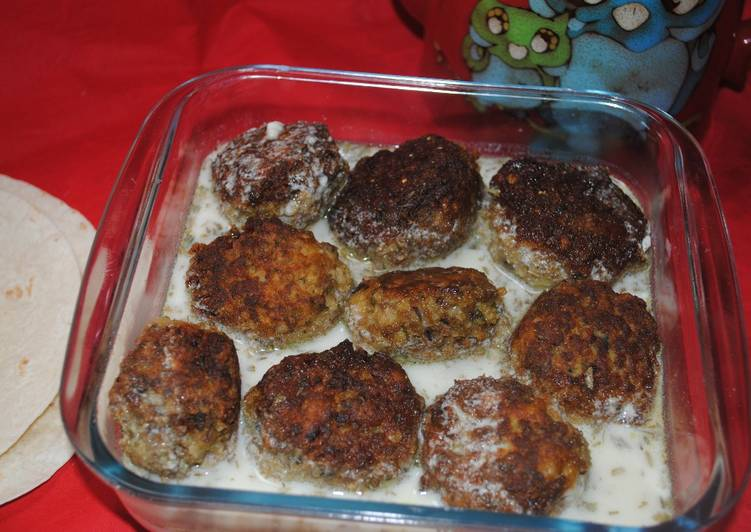 Easiest Way to Prepare Super Quick Homemade Persian meatballs with doogh
