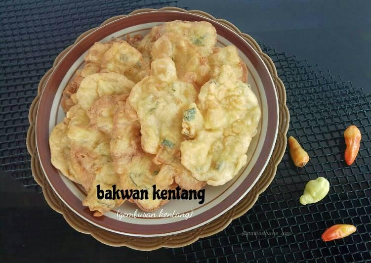 Bakwan Kentang (aka Gembusan Telur & Kentang)