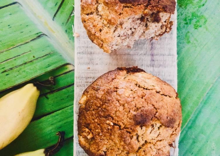 Luftig leckere Bananenmuffins