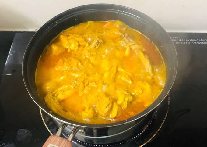 Cách Làm Món Cà ri gà nhanh gọn lẹ của Trang Nguyễn - Cookpad