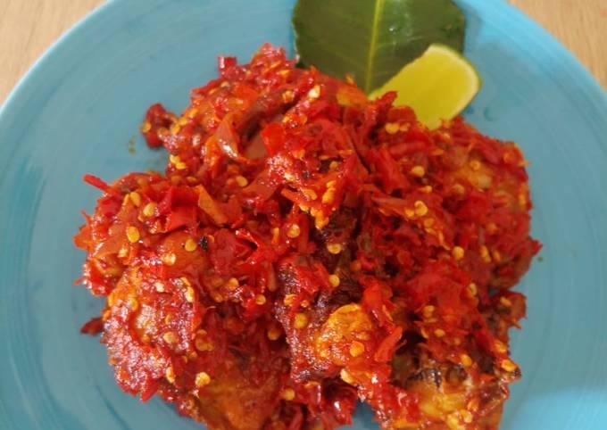 Ayam Goreng Balado 🍗
