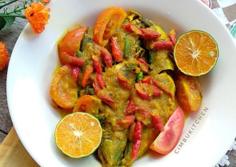Pesmol Ikan Kembung (tanpa goreng)