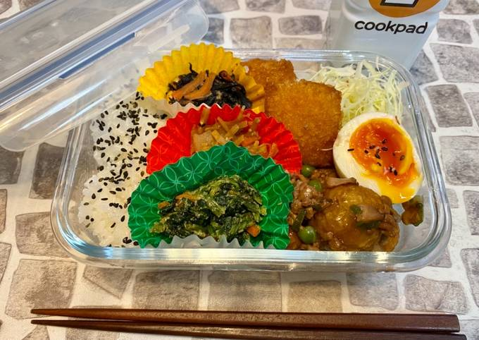 Recipe of Homemade Japanese Busy Mom's Obento Lunch Box