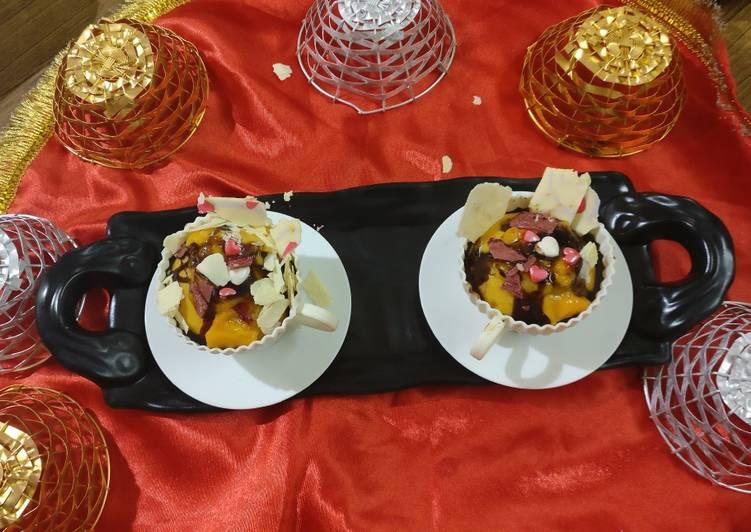Mango cupcakes new version of mango