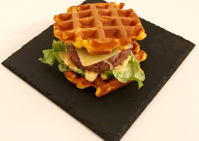 Gaufres butternut version burger