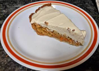 How to Cook Tasty Carrot Cake Pie