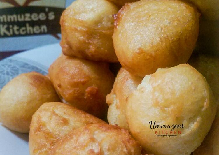 How to Prepare Perfect Milky Puff Puff