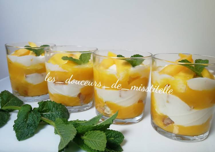 Verrine mangue mascarpone