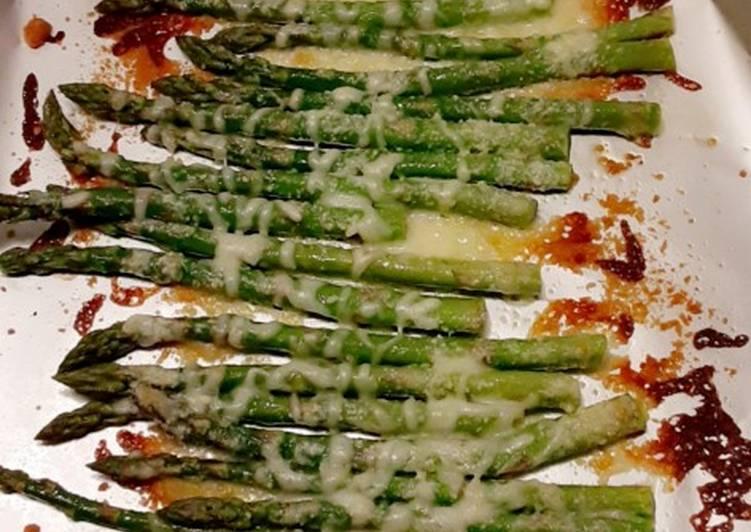 Recipe: Delicious Roasted Asparagus