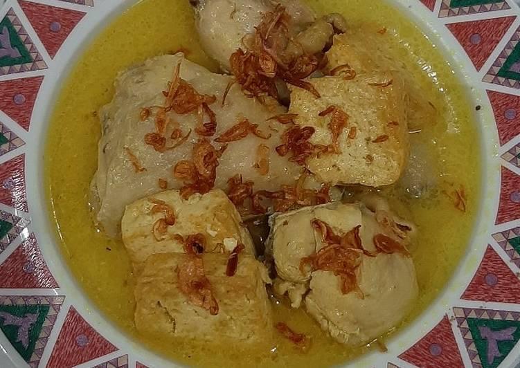 Opor Ayam kuning ala BunKev
