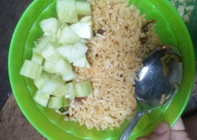 Nasi Goreng Telur Ala Korea