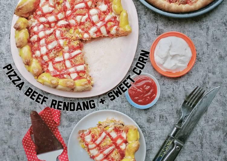 Pizza Beef Rendang & Sweet Corn