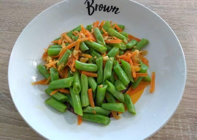 Steps to Prepare Award-winning 清炒四季豆 Stir-fried French Bean