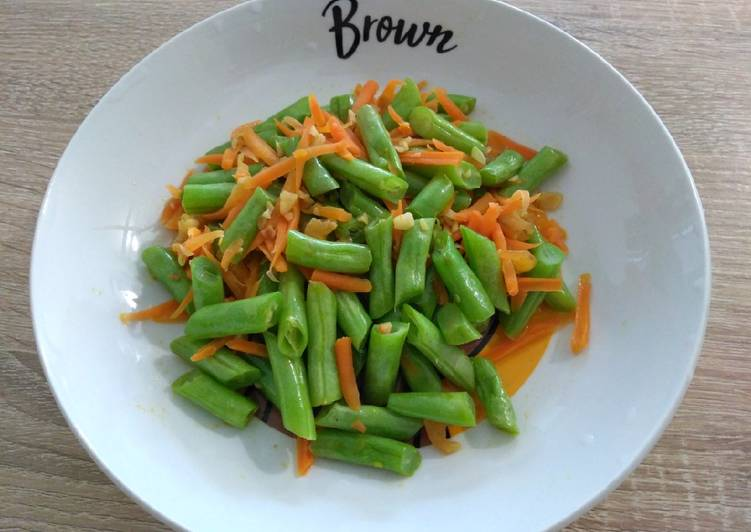 Easiest Way to Prepare Homemade 清炒四季豆 Stir-fried French Bean