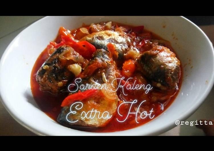 Sarden Kaleng Extra Hot